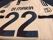 Real Madrid Di Mar�A 110 AÑOs Soccer Jersey Size L Barcelona Mexico America