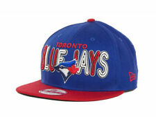Toronto Blue Jays New Era 9Fifty Retro Strapback MLB Baseball Cap Hat BLUE RED