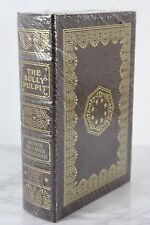 BULLY PULPIT THEODORE ROOSEVELT Easton Press - DORIS GOODWIN SIGNED 1ST - SEALED
