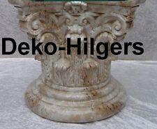 Säule Stuckgips Dekosäule Podest Tisch Wohnen Möbel Säulen 1027 Optik Marmor 123