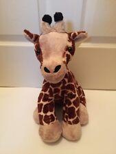 "BUILD A BEAR Brown BLACK Giraffe 2010 Safari JUNGLE 17"" STUFFED Plush Black Tip"