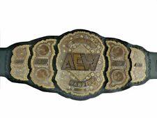 WWE World AEW Championship Wrestling Belt Replica Belt Leather Belt 51 Length