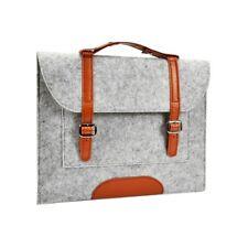 "UNIK CASE-Felt Laptop Sleeve Bag Case Cover for All 13"" Laptop-Light Grey"