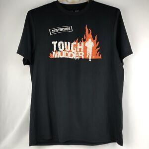 Tough Mudder UA Heat Gear Sz XL 2015 Finisher Performance T-shirt Mudder Nation