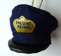 Present Patrol Cap Hat Christmas Ornament