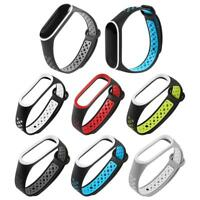 Silicone Wrist Band Bracelet Strap Replacement for Xiaomi Mi Band 3 Smart Watch