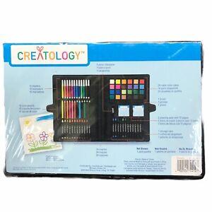 Creatology 100-PIECE Kids Art Set Markers Paints Crayons Pencils New/Open Box