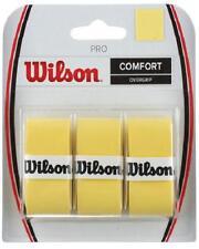 Overgrip Tennis WILSON Pro Overgrip Giallo n.1 confezione da 3