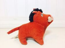 McDonalds 1998 LION KING II SIMBA'S PRIDE Pumba Soft Plush Happy Meal Toy