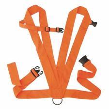"Allen Blaze Orange Heavy Duty Deer Drag Harness 2"" Web Design Rope Included"