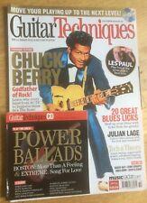 Guitar Techniques magazine & CD: October 2009