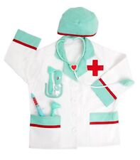 Fao Schwarz Children's Doctor Costume Ages 3-6 New