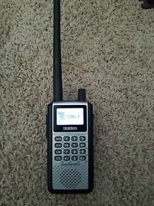 UNIDEN BCD396XT TrunkTracker IV Digital Radio Scanner, Antenna, FS, smoke free