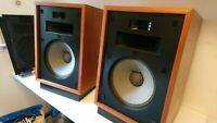 Klipsch Heresy Speakers, 1979, restored to better than new, upgraded capacitors.
