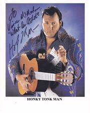 HONKY TONK MAN SIGNED 8X10 TO VINCE MCMAHON AUTOGRAPH WWF WWE HOF C.O.A.