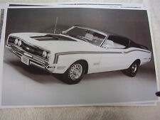 1969 MERCURY CYCLONE CALE YARBOROUGH SPECIAL  11 X 17  PHOTO   PICTURE