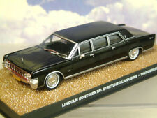 1/43 JAMES BOND 007 1964 LINCOLN CONTINENTAL STRETCHED LIMOUSINE THUNDERBALL