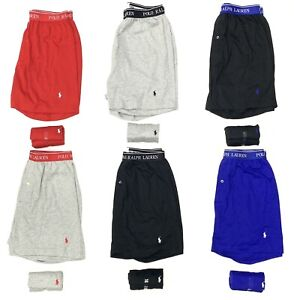 Polo Ralph Lauren Men's Classic Fit Knit Boxers With Wicking In 6 Pack
