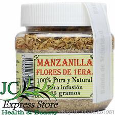 MANZANILLA FLORES DE PRIMERA CHAMOMILE FLOWERS FIRST CLASS 25 GR 3 GENERACIONES