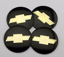 "4Pcs 56mm 2.2"" Car Wheel Center Hub Cap Emblem Badge Decal Sticker For Chevrolet"