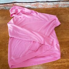 Girls Danskin Now Activewear Hooded Top with Thumbholes Pink Size L 10/12 EUC!