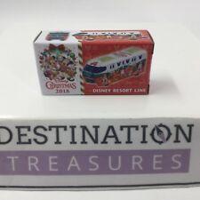Tokyo Disney Christmas Collection 2018 Takara TOMY Resort Line Monorail Diecast