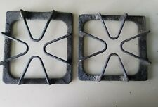 2- GE Whirlpool Range Stove Oven Burner Grate Plate Grill Cast Iron W10447925
