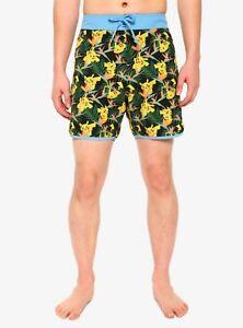UDERSON Pokmon Shiny Mega Gengar Boys Swim Trunks Funny Cool Board Shorts Little Kids Swimsuits with Pockets