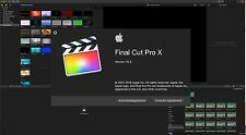 Final Cut Pro X 10.3 with Motion 5, Compressor 4 (genuine disc and updates.)