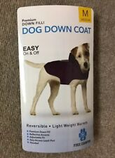 New listing New Free Country Down medium Blue dog coat $45