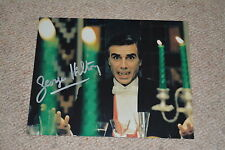 GEORGE HILTON  signed Autogramm 20x25 cm In Person DINNER WITH THE  VAMPIRE