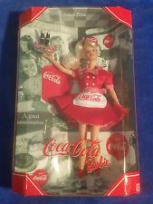 Coca Cola Barbie # 1 Blonde Waitress - Coke