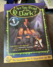 Are You Afraid of The Dark: Season 1 OOP DVD Nickelodeon 3 Disc Set Rare