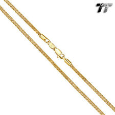 TT 2.5mm Gold Filled Popcorn Chain Necklace (CF154)