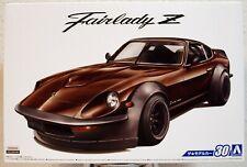 Aoshima 058442 1975 Datsun 240 Z Nissan Fairlady Z S 30 Aerocustom JDM 1:24