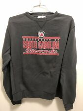 South Carolina Gamecocks Men's Black Crew Fleece Large New