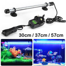 Aquarium Fish Tank LED Light RGB SMD White Blue Strip Light Bar Lamp Lights Top