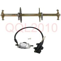 "32"" 815mm Completed GoKart Rear Axle Assembly Kit hub For Quad Buggy ATV +Brake"