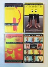 Lot 4 Nick Hornby Books (PB) High Fidelity, About a Boy, Songbook, Speaking with