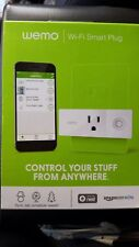 Wemo Mini Smart Home Outlet Plug Wi-Fi Enabled Amazon Alexa Remote Switch Timer