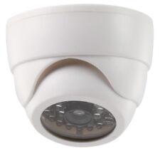 Überwachungs Kamera Dummy Dome / Justierbar / Weiß / mit blinkender LED