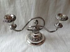 Pretty  Old Candle Holder...silver Plate made in Lanthe of England