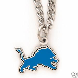Detroit Lions Logo Necklace