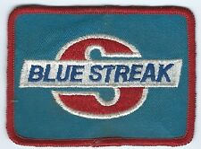 Blue Streak auto parts patch 2-7/8 X 3-7/8 subsidary of SMP #1033
