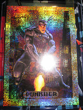 CARTE MARVEL MASTERPIECES SERIE 1994 PUNISHER 6 OF 10 GOLD HOLOFOIL CARD MINT