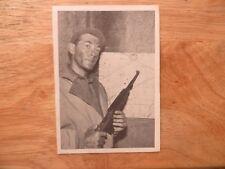 1964 VINTAGE DONRUSS WWII COMBAT TV SHOW GUM CARD # 46 LT. JASON