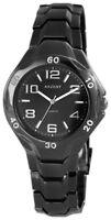 Akzent Herrenuhr Schwarz Titan-Look Analog Metall Armbanduhr XSS7671100039