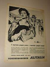 ALITALIA=ANNI '50=PUBBLICITA=ADVERTISING=WERBUNG=622