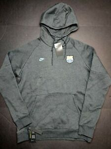 Nike FC Barcelona Fleece Hoodie Pullover Sweater Barca Size Large CI2090-065