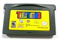 Teen Titans Nintendo Game Boy Advance GBA ~ Tested Working & AUTHENTIC